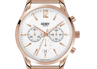 Richmond Chrono Rose Gold Stainless Steel Bracelet