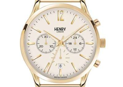 Westminster Chrono Gold Stainless Steel Bracelet