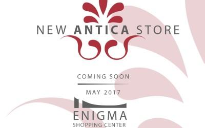 Νέο Κατάστημα Antica στο Enigma Mall