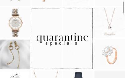 Καλωσορίζουμε τα QUARANTINE SPECIALS